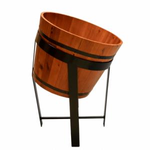 Wooden Barrel Stands