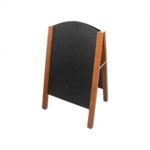 A-Frame Chalkboards For Catering