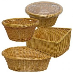 Wicker Baskets for Delicatessen