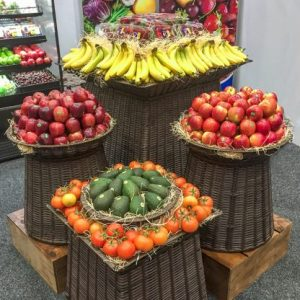 Produce Island Display