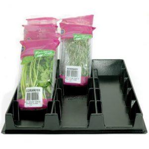 Herb/Salad Pre-Pack Display Trays & Racks