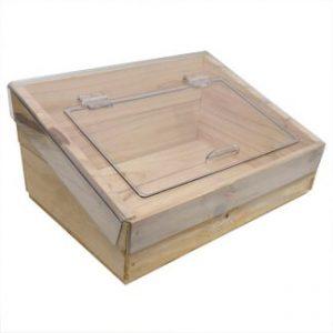 Deli Polycarbonate Wooden Crate Lids