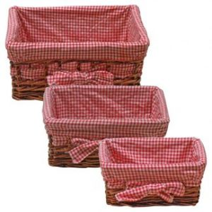 Basket Sets-Natural Wicker