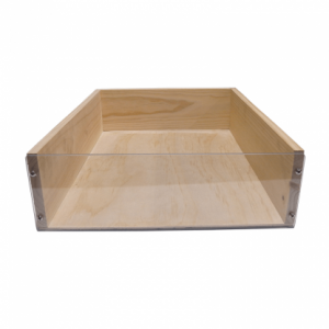 Wooden Crates - Clear-Fronted
