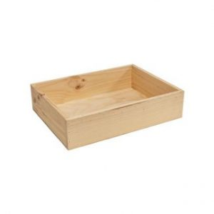 Solid Sided Wooden Crates for Bakery