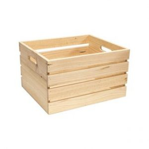 Slat Sided Crates for Delicatessen