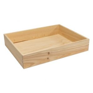 Produce Solid Sided Wooden Crates