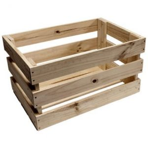 Produce Slat Sided Crates
