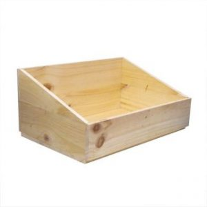 Deli Wooden Display Crates