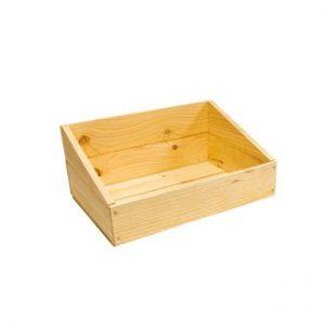 Slant-Sided Crates For Delicatessen