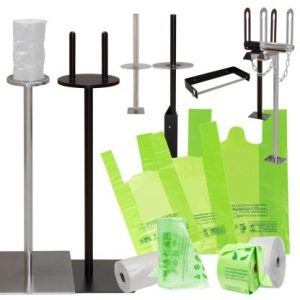 Produce Bag Dispensers & Bags
