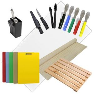 Cutting Boards, Utensils & Matting